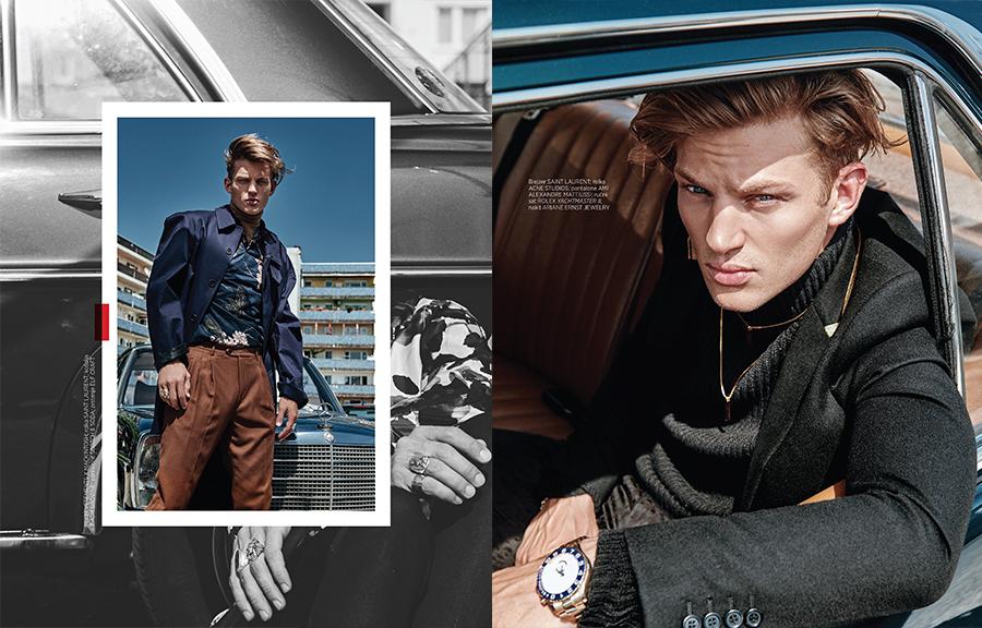 Harpers Bazaar Man, Christoph Klutsch, Ariane Lindhorst, Sebastian Suave