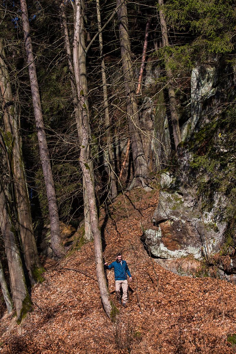 Photoshooting Cedric Denuwelaere Paul James Hay Mountain Man ENCORE Magazine CORE Artist Management