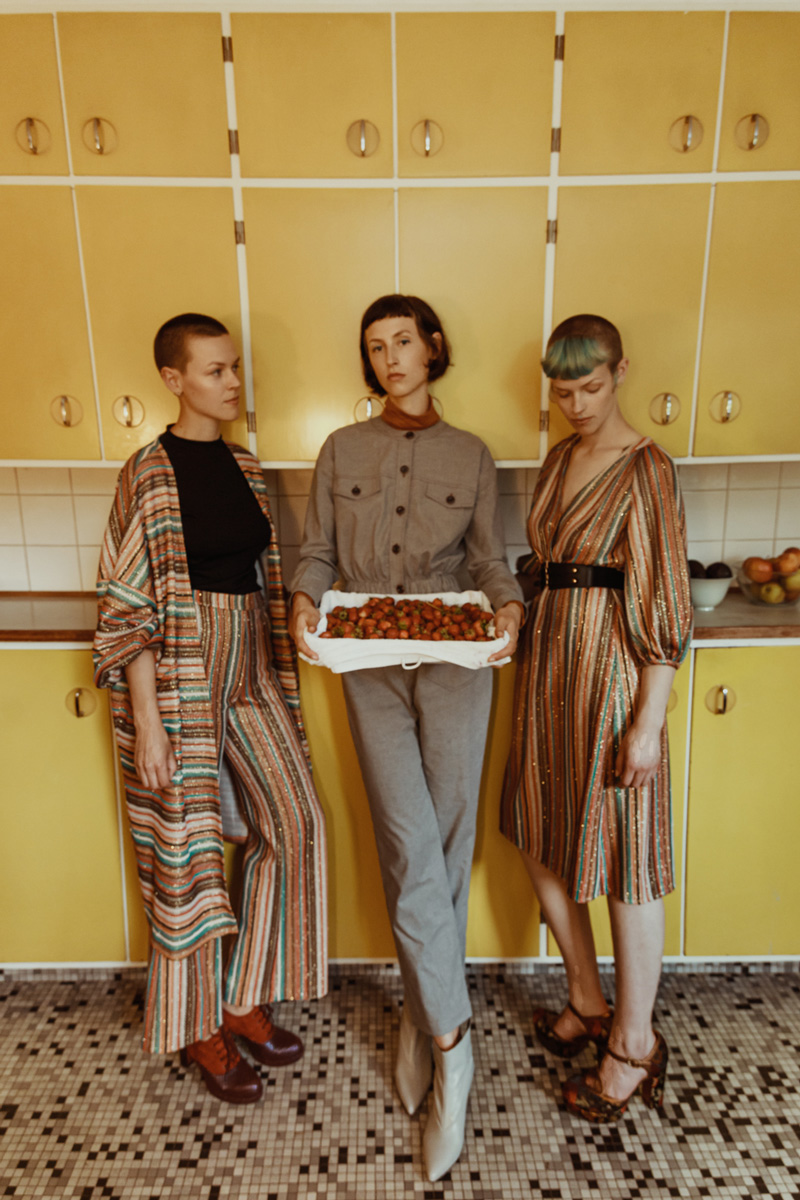 Interview of Freddy Engel and her Sisters about family feminism and fashion for models.com