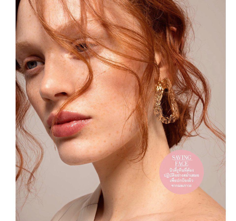 Laura Schuller for Elle Thailand