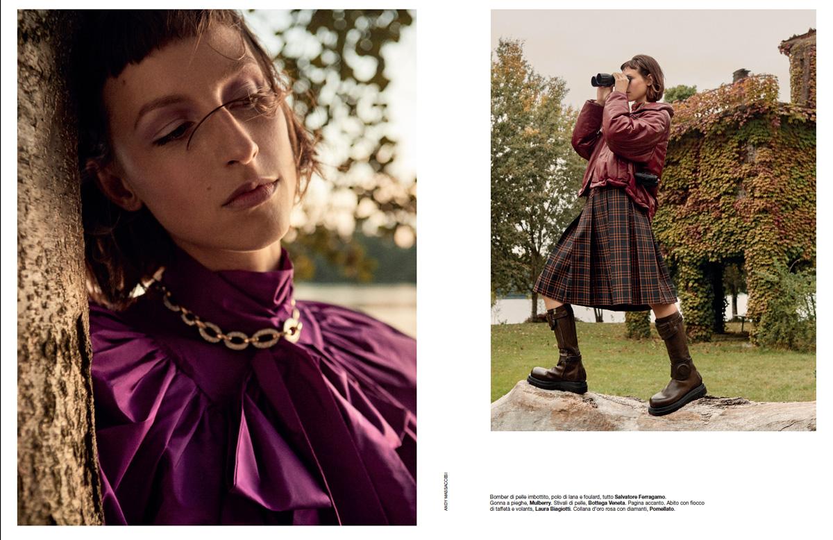 Freddy Engel for D la republica Magazine