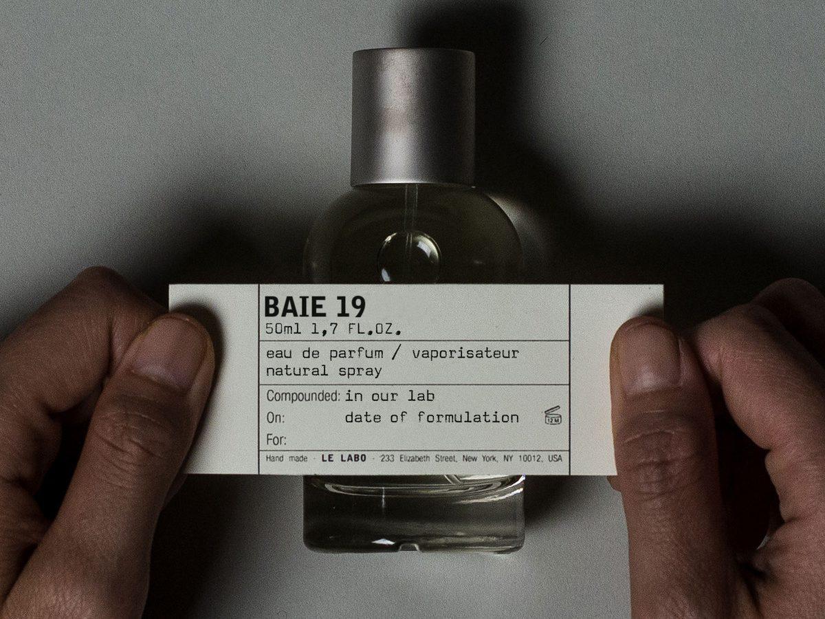 Baie 19 – Le Labo Fragrances