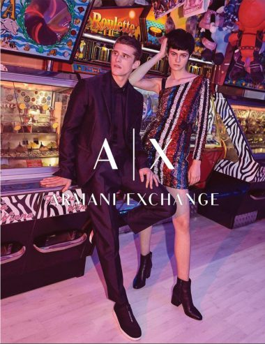Matt Van De Sande for Armani