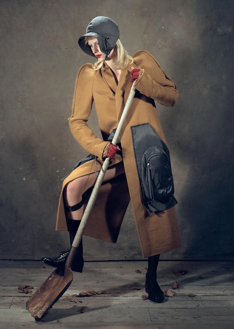 Julia Nobis for Vogue UK The Land Girl