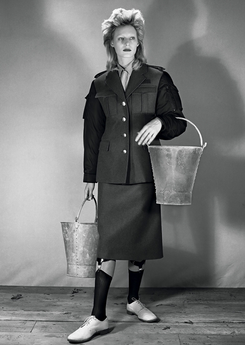Julia Nobis for Vogue UK The Land Girl