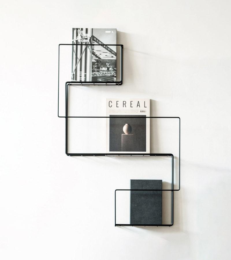 Magazine rack by Anna-Maria Nilsson