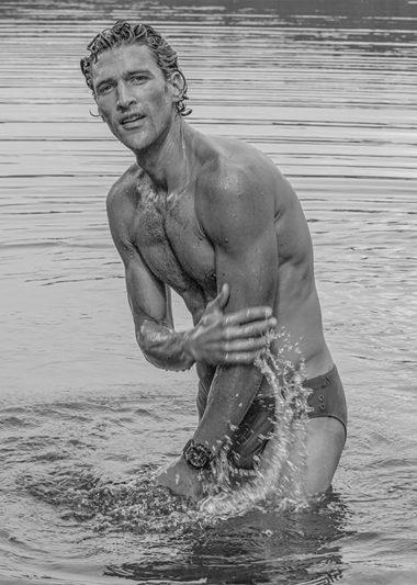 A Man By The Lake